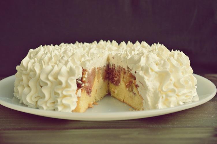 Tort de mere caramelizat